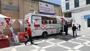 Türk Kızılay'ına Gezici Kan Bağışı aracı hibe edildi-Vidoelu Haber