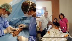 Urfa'da Elinde tümör çıkan Kadına leğen kemiğinden nakil yapıldı