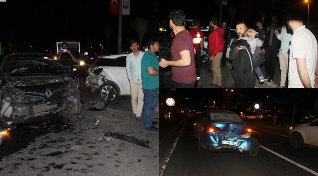 Urfa'da Zincirleme Kaza 4 Yaralı