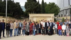 Urfalı öğrenciler Azerbaycan'ı gezdi