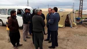 Urfalı tarım işçilerinin sorunları Vali Yurtnaç'a anlattı