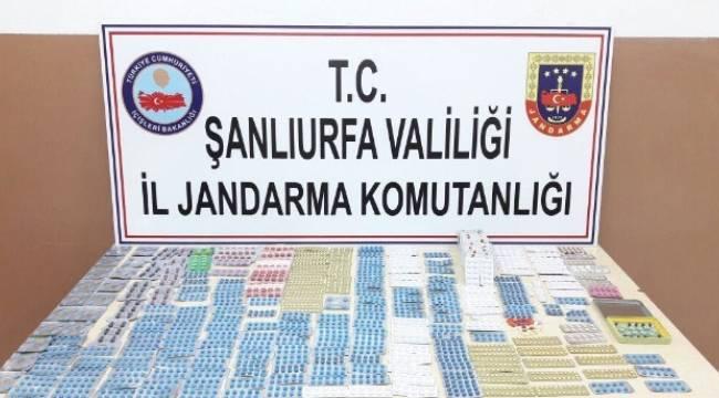 Viranşehir ve Ceylanpınar'da uyuşturucu operasyonu