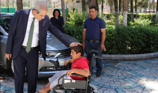 11 Yaşındaki Mehmet'in isteği gerçekleşti-Videolu Haber