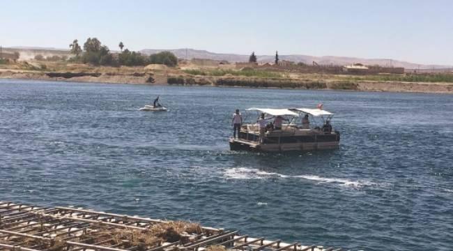 3 Suriyeli Fırat Nehri'nde kayboldu
