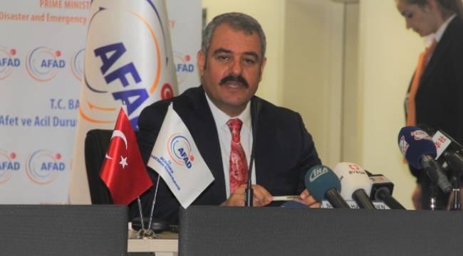 AFAD Başkanı Bilden, Şanlıurfa'ya yoğun göç oldu
