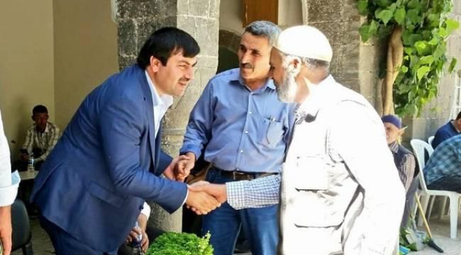 AK Parti Siverek Teşkilatında Bayramlaşma