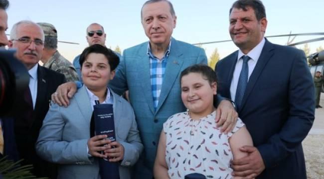 Ayhan'dan Cumhurbaşkanı Erdoğan'a teşekkür