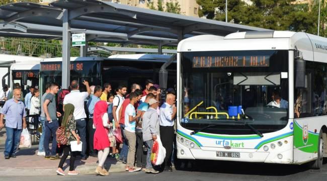 Bayramda toplu taşıma ücretsiz