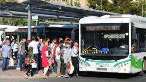 Toplu taşımada ikinci binişlere % 50 indirim