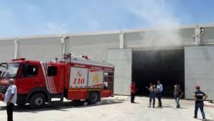 Çırçır fabrikasında yangın
