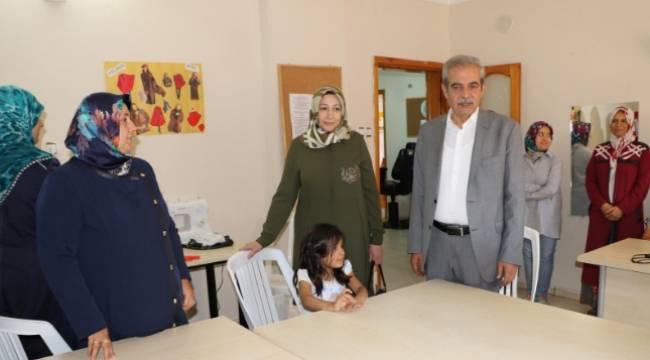 Demirkol, Devteşti kadın destek merkezini ziyaret etti-Videolu Haber