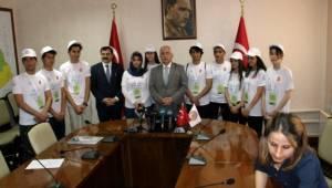 Gönüllü Turizm Elçileri basının karşısına çıktı