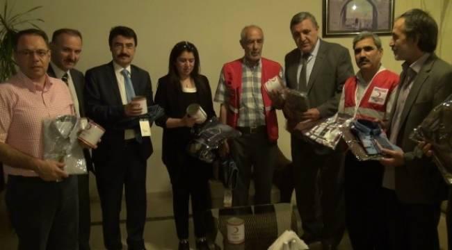 Kızılay'dan öğrencilere bayram hediyesi-Videolu Haber