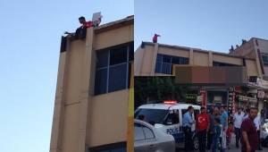 Şanlıurfa'da işten çıkarılan genç intihar etmek istedi-Videolu Haber