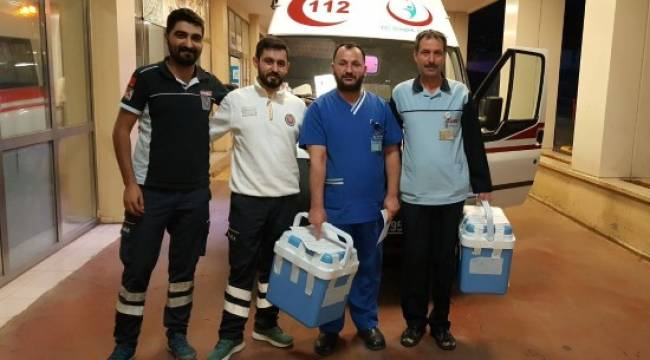 Şanlıurfa'da ölen hastanın organları 3 kişiye umut oldu