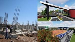 Şanlıurfa Tenis Dünyasının inşaat çalışmalarını sürüyor