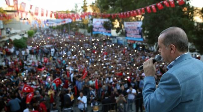 Suriye'nin kuzeyinde devlet kurulmasına asla müsaade etmeyiz