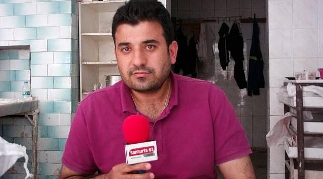 Urfa'da pişirme parası alınca kızıyorlar