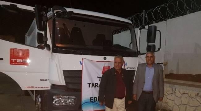 Viranşehir Belediyesi'ne araç hibesi