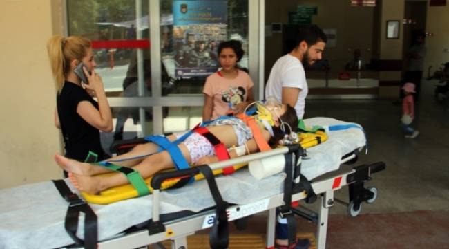 4 yaşındaki kız çocuğu ranzadan düştü