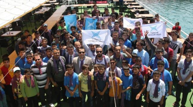 51 Şırnaklı ve 50 Urfalı Trabzon'u gezdi