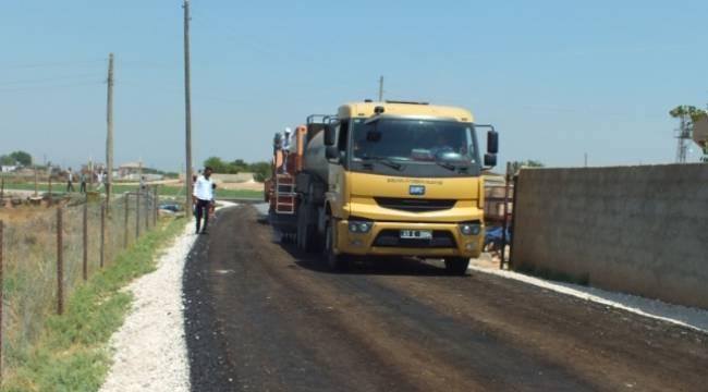 Akçakale'de 150 km'lik yol asfaltlanacak