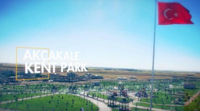 Akçakale Kent Parkı Açılıyor-Videolu Haber