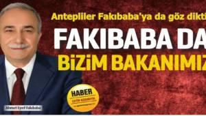 Antepliler Fakıbaba'ya da göz dikti