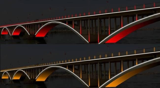 Birecik Köprüsü, Şehitler köprüsü gibi ışıklandırılacak