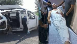 Çadırkent camisinin imamı kazada yaralandı