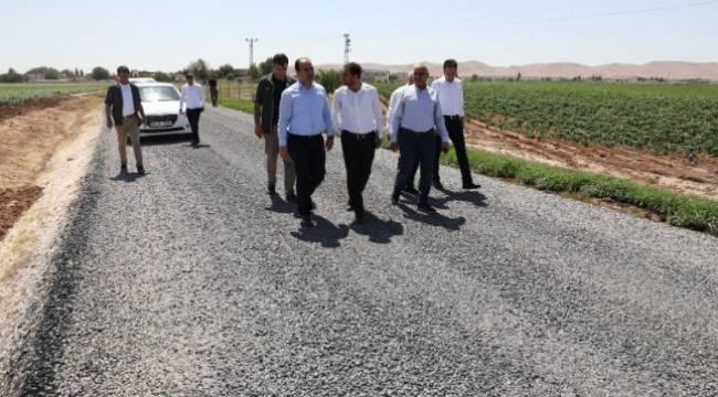 Çiftçi, Akçakale kırsalındaki çalışmaları inceledi-Videolu Haber