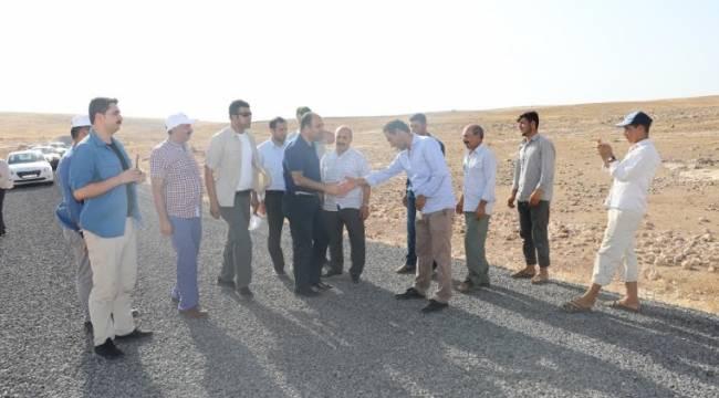 Çiftçi, Urfa'nın yol sorununu bitireceğiz-Videolu Haber