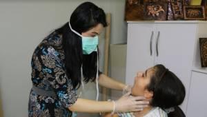 Engellilere Ağız ve Diş sağlığı taraması yapıldı-Videolu Haber