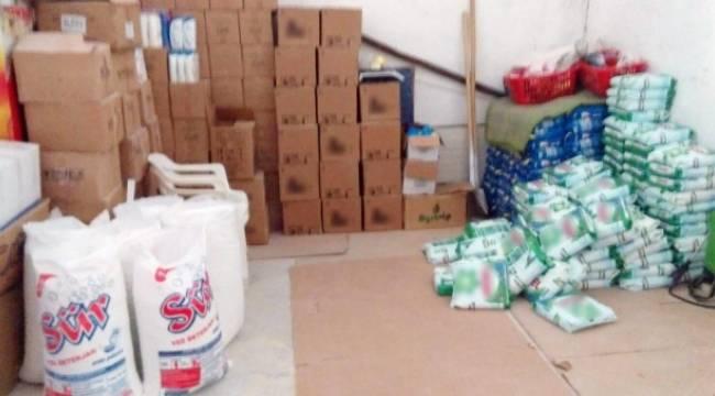 Eyyübiye'de 30 ton sahte deterjan ve şampuan yakalandı-Videolu Haber