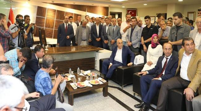Fakıbaba, Şanlıurfa Büyükşehir Belediyesinde-Videolu Haber