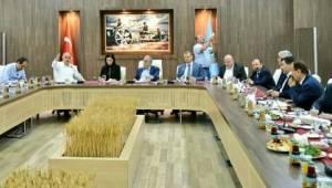 Fındık üreticilerin sorunları ve çözümlerini görüştüler