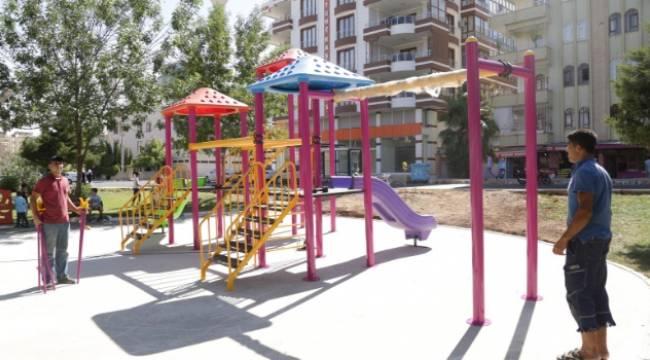 Haliliye'de parklara yeni oyun grubu-Videolu Haber