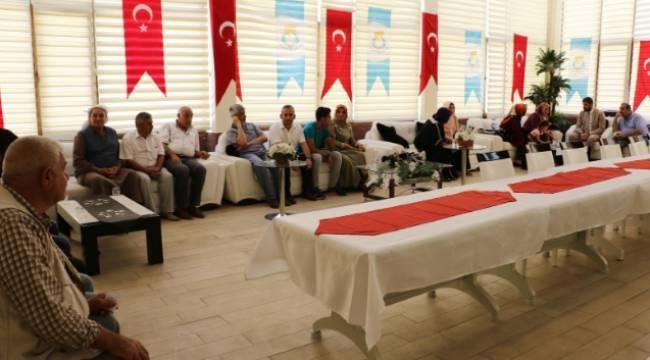 Haliliye'de Temmuz ayı halk toplantısı yapıldı-Videolu Haber