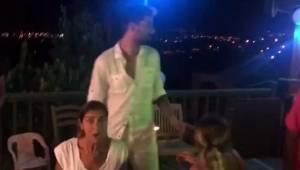 İdo ve Derya Tuna depreme doğum günü kutlarken yakalandı