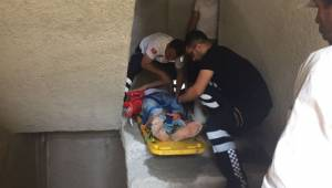 İnşaatta düşen işçi yaralandı