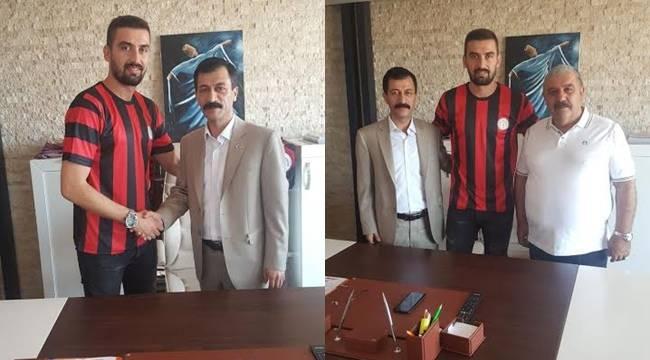 Karaköprü Belediyespor forvet oyuncusunu transfer etti