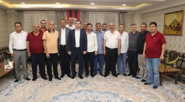 Karaköprü Belediyespor Yönetimi İlk Toplantısını Yaptı