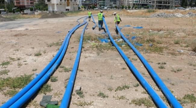 Karaköprü içme suyu alt yapısı yenileniyor-Vidoelu Haber