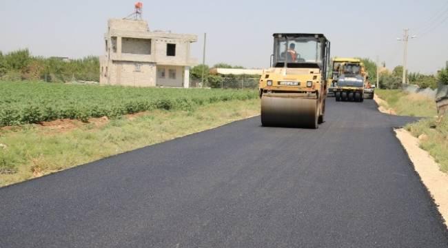 Kırsal mahallelerde sıcak asfalt uygulaması başladı-Videolu Haber