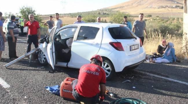 Kızlar'da feci kaza 5'i ağır, 6 kişi yaralı