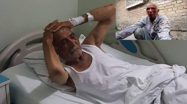 Öldüresi dövülen Urfalı Yaşlı Adama yardım eli uzandı