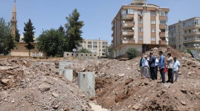 Şair Nabi'deki semt pazarı inşaatı sürüyor-Videolu Haber