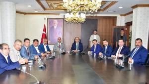 Şanlıurfa Belediye Başkanları Valilikte
