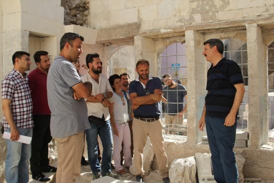 Şanlıurfa'da tarihi evler restore ediliyor