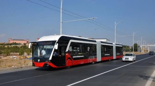 Şanlıurfa'da trambüs dönemi başlıyor-Videolu Haber